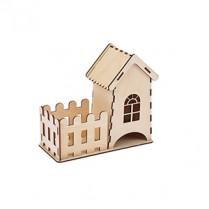 Чайный домик с заборчиком