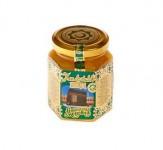 """Мёд в стеклянной банке """"Халяль"""" 0,23 кг."""
