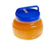 Банка пластиковая с медом 0.4 кг