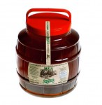 Мед натуральный гречишный 0,35 кг пластик