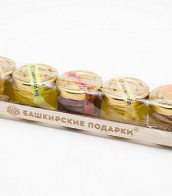 Набор Башкирские подарки 5*0,04 Юрта