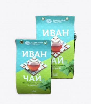 Иван-чай Башкирские подарки с Мятой 250гр