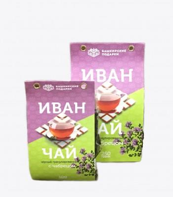 Иван-чай Башкирские подарки с Чабрецом 250гр