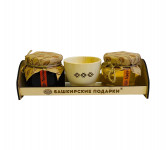 Набор Башподарки №29 Пиала с медом